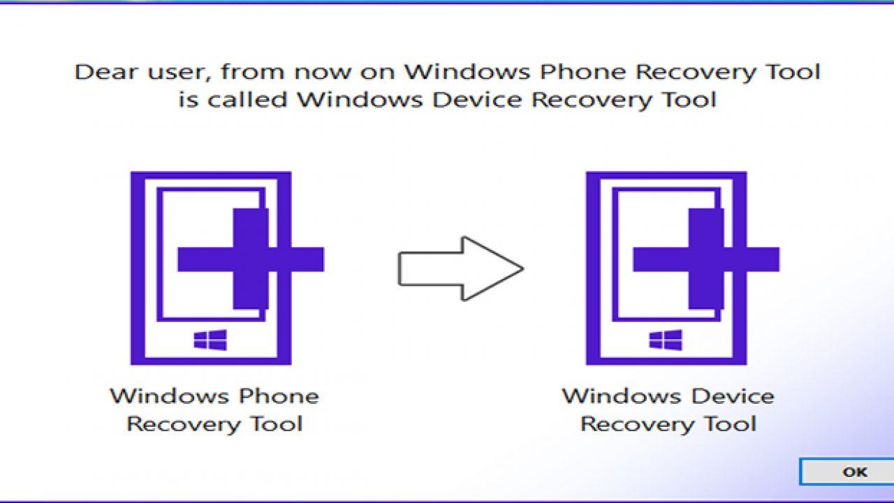 Windows Phone Recovery Tool dostal nové meno a vylepšenia