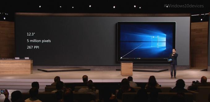 surface pro 4 obrazovka