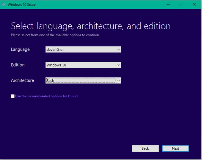 Windows 10 nastroj 4