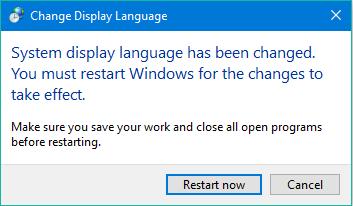 windows 10 jazyk zmena