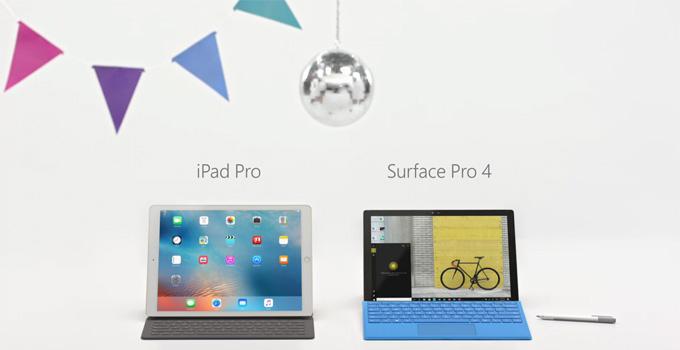 349e0f847 Apple v reklame označuje iPad Pro ako počítač, Microsoft nesúhlasí
