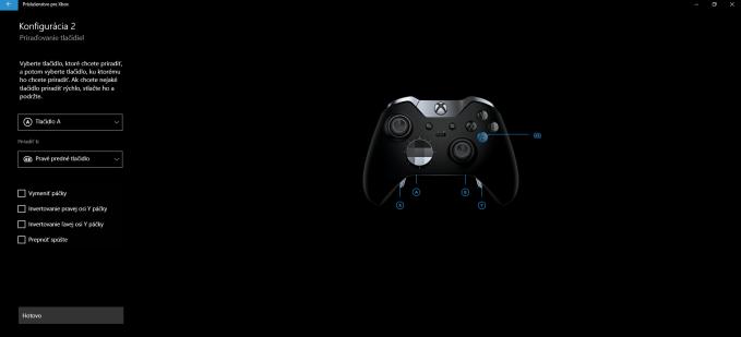 ovládač Xbox Elite