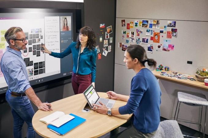 Microsoft pracovne priestory vizia 2