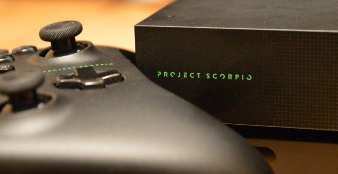 Xbox One X CRT