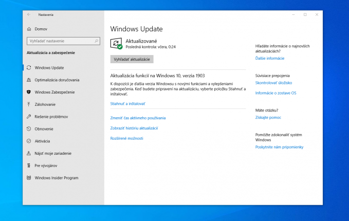 The May 10 update for Windows 10 is available to a larger